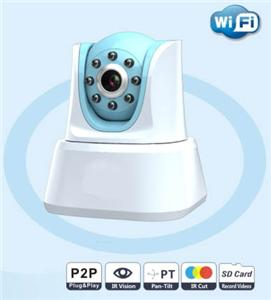 New Mini P2P IP camera  wireless  security indoor IR nightvision digital video recorder CCTV