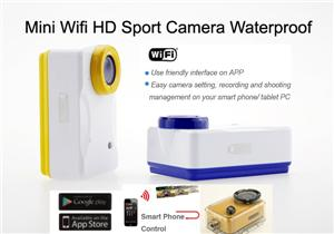 Mini Wifi Camera Sport Action DV HD Video Recorder Waterproof Helmet