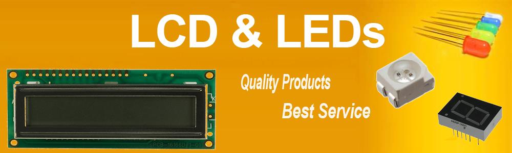 LED y LCD