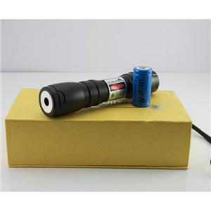 LM-619 50mw green laser flashlights astronomy with rechargable battery