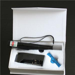 LM-302 50mw green laser flashlights astronomy with rechargable battery